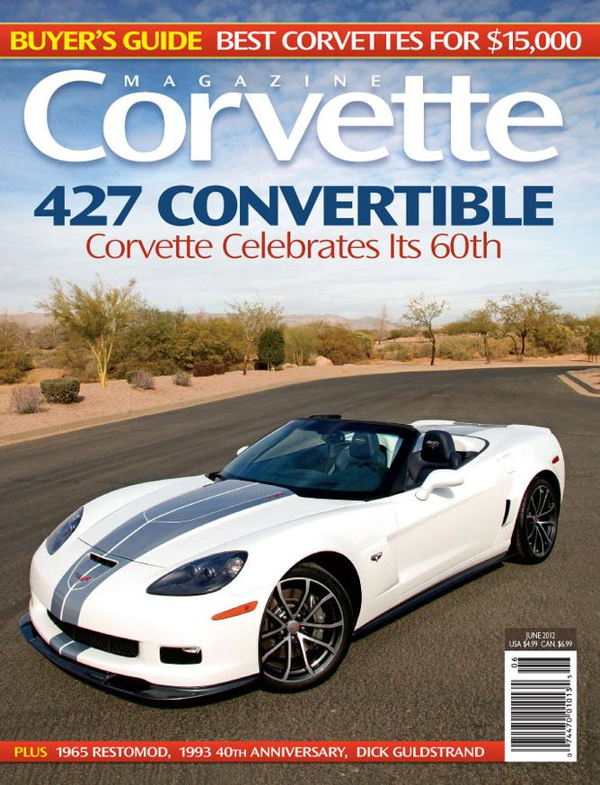 Corvette magazine 73 cover