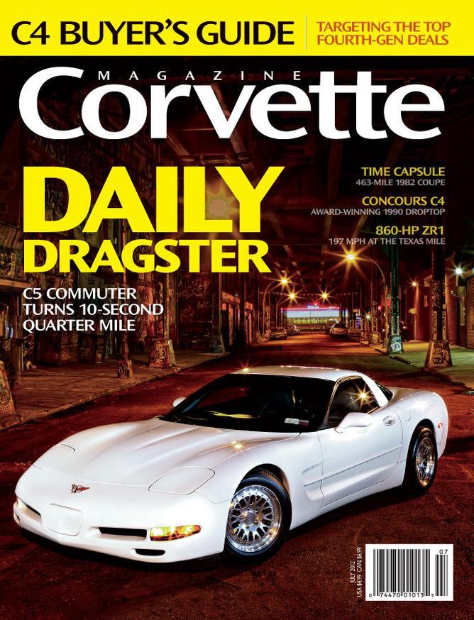Corvette magazine 74 cover