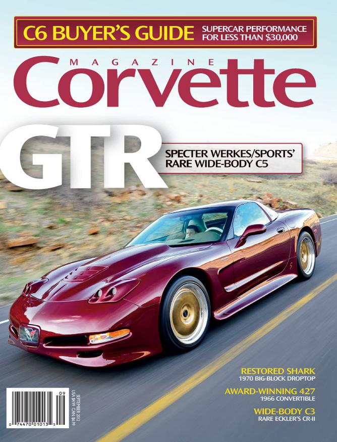 Corvette magazine 75 cover