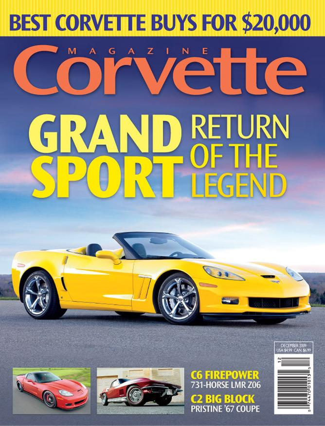 Corvette magazine 53 cover