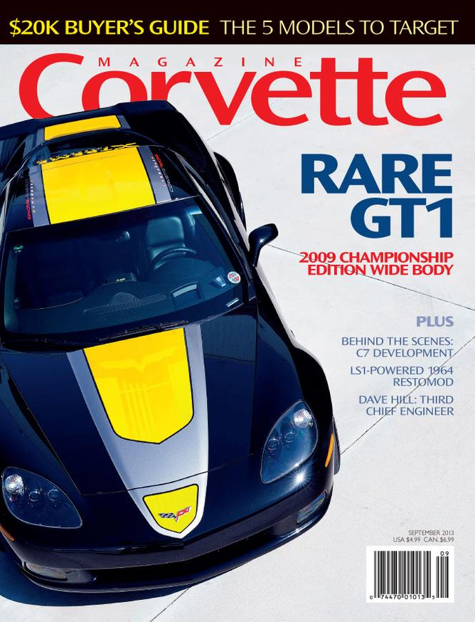 Corvette magazine 83 cover