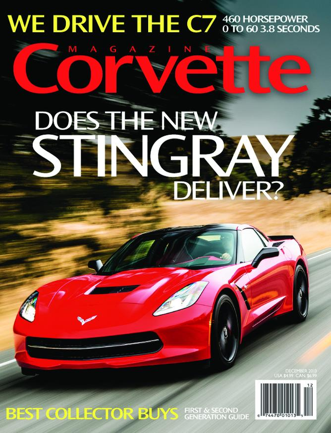 Corvette magazine 85 cover