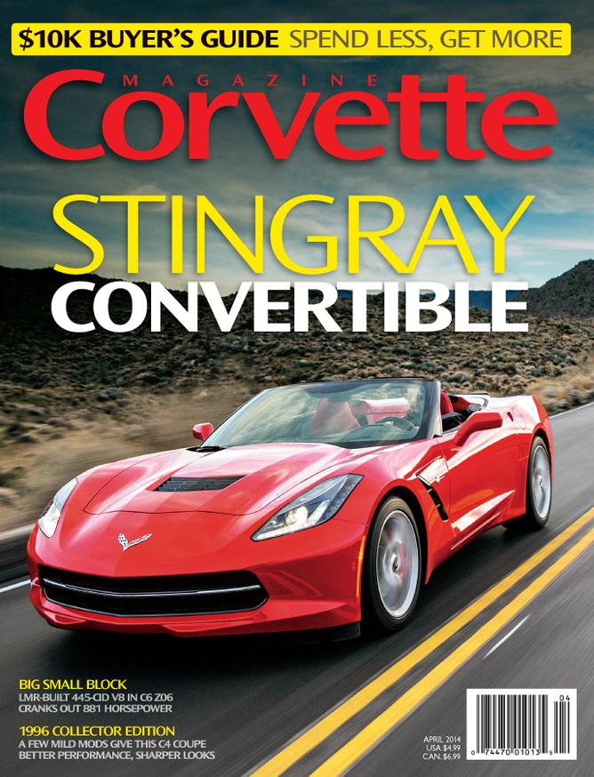 Corvette magazine 88 cover
