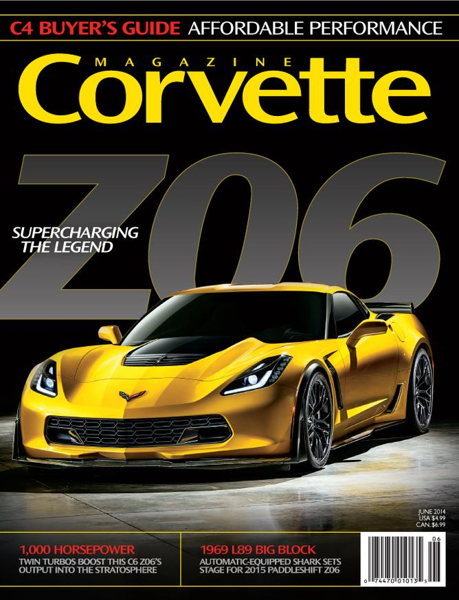 Corvette magazine 89 cover