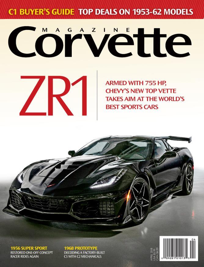 Corvette magazine 120 cover