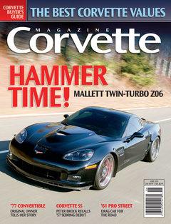 Corvette magazine 57 cover