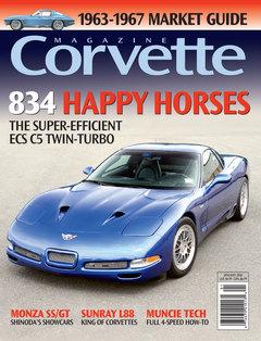 Corvette magazine 38 cover