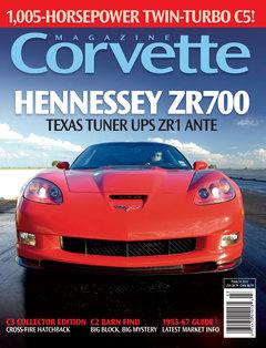 Corvette magazine 55 cover