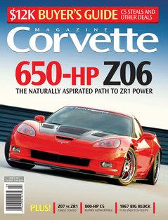 Corvette magazine 63 cover