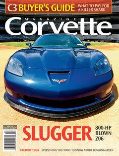Corvette magazine 64 cover