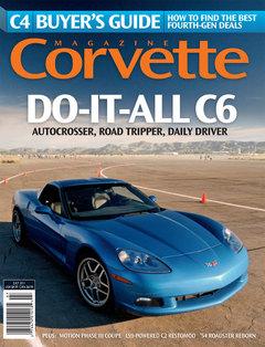 Corvette magazine 66 cover