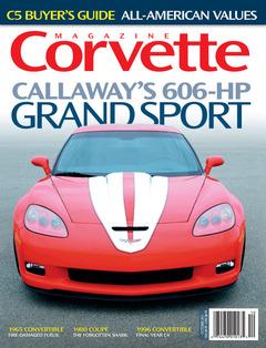 Corvette magazine 68 cover