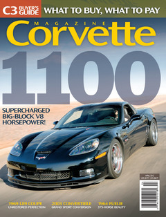 Corvette magazine 72 cover