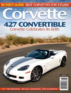 Corvette magazine 73 cover