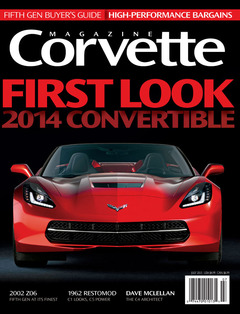 Corvette magazine 82 cover