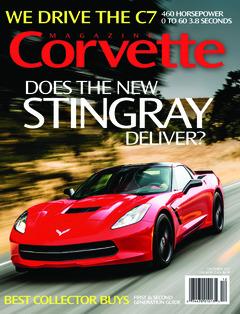 Corvette magazine 85 cover