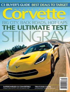 Corvette magazine 87 cover