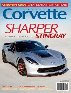 Corvette magazine 92 cover