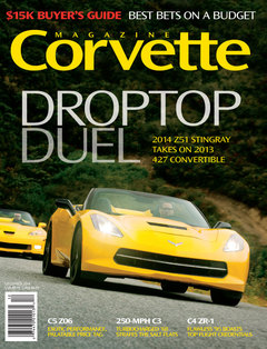 Corvette magazine 93 cover