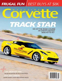 Corvette magazine 95 cover