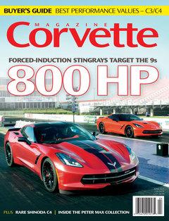 Corvette magazine 96 cover