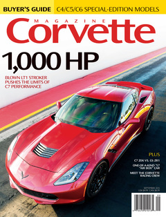 Corvette magazine 99 cover
