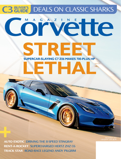 Corvette magazine 101 cover