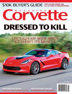 Corvette magazine 103 cover