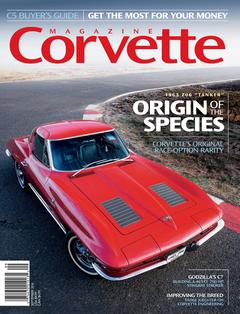 Corvette magazine 107 cover