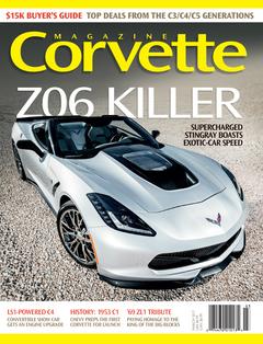 Corvette magazine 111 cover