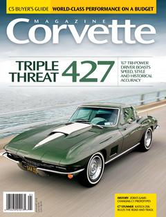 Corvette magazine 118 cover