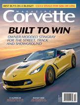 Corvette magazine 108 cover
