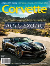 Corvette magazine 110 cover