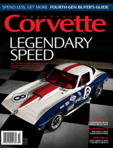 Corvette magazine 114 cover