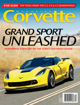 Corvette magazine 117 cover