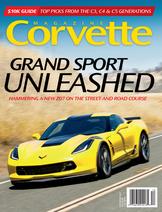 Corvette magazine 117 cover