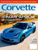 Corvette magazine 119 cover