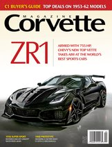 Corvette magazine 120 cover