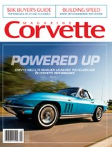 Corvette magazine 121 cover