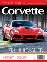 Corvette magazine 122 cover