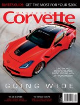 Corvette magazine 123 cover