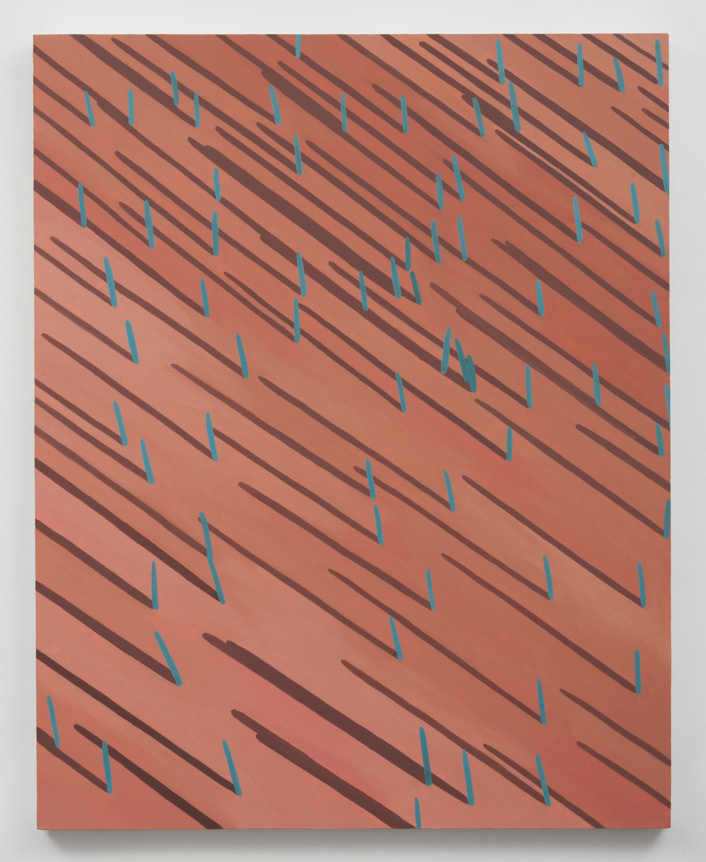 Corydon Cowansage, Grass 10, 2014, oil on canvas, 50 x 40 inches
