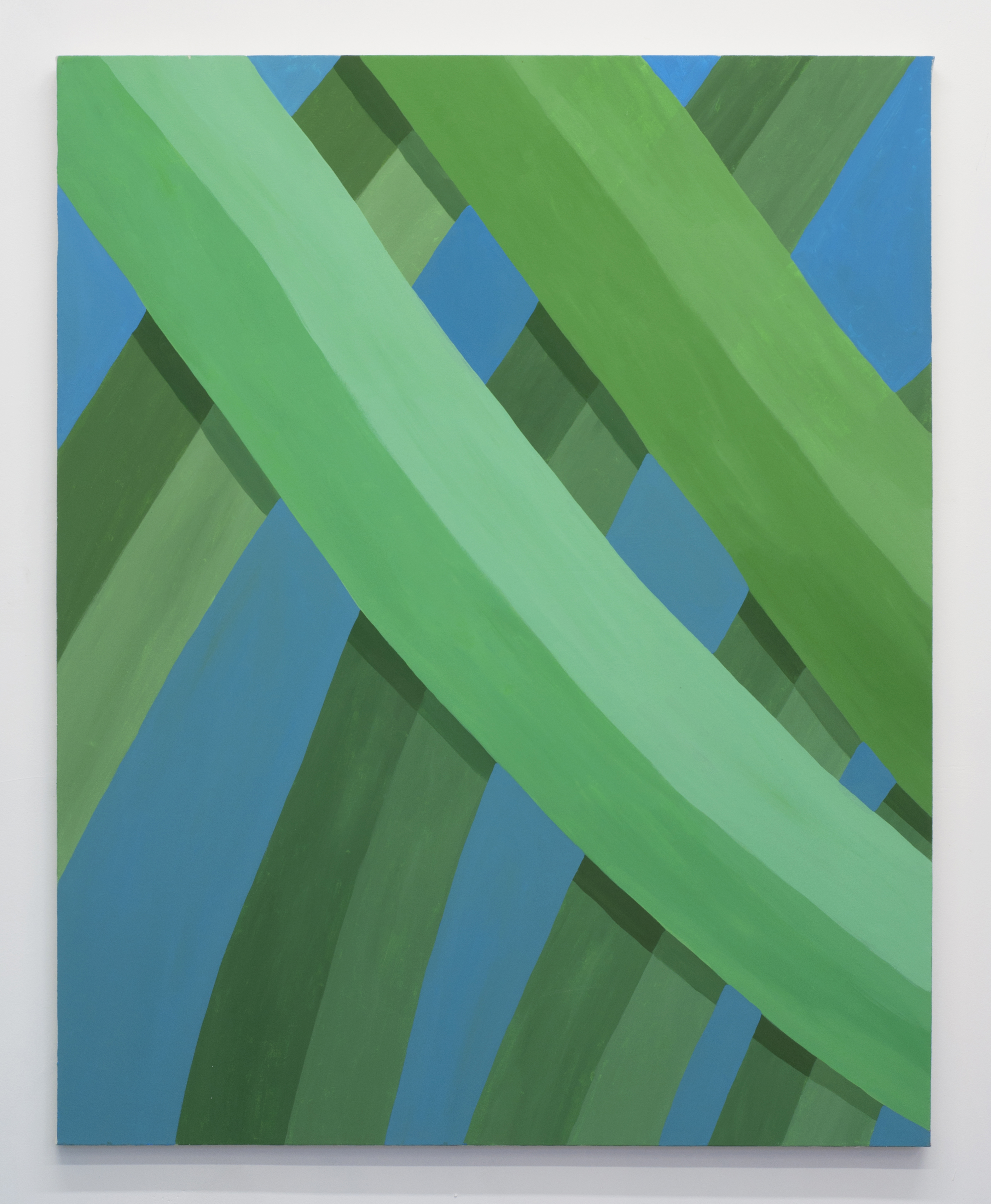 Corydon Cowansage, Grass 44, 2015, acrylic on canvas, 50 x 40 inches