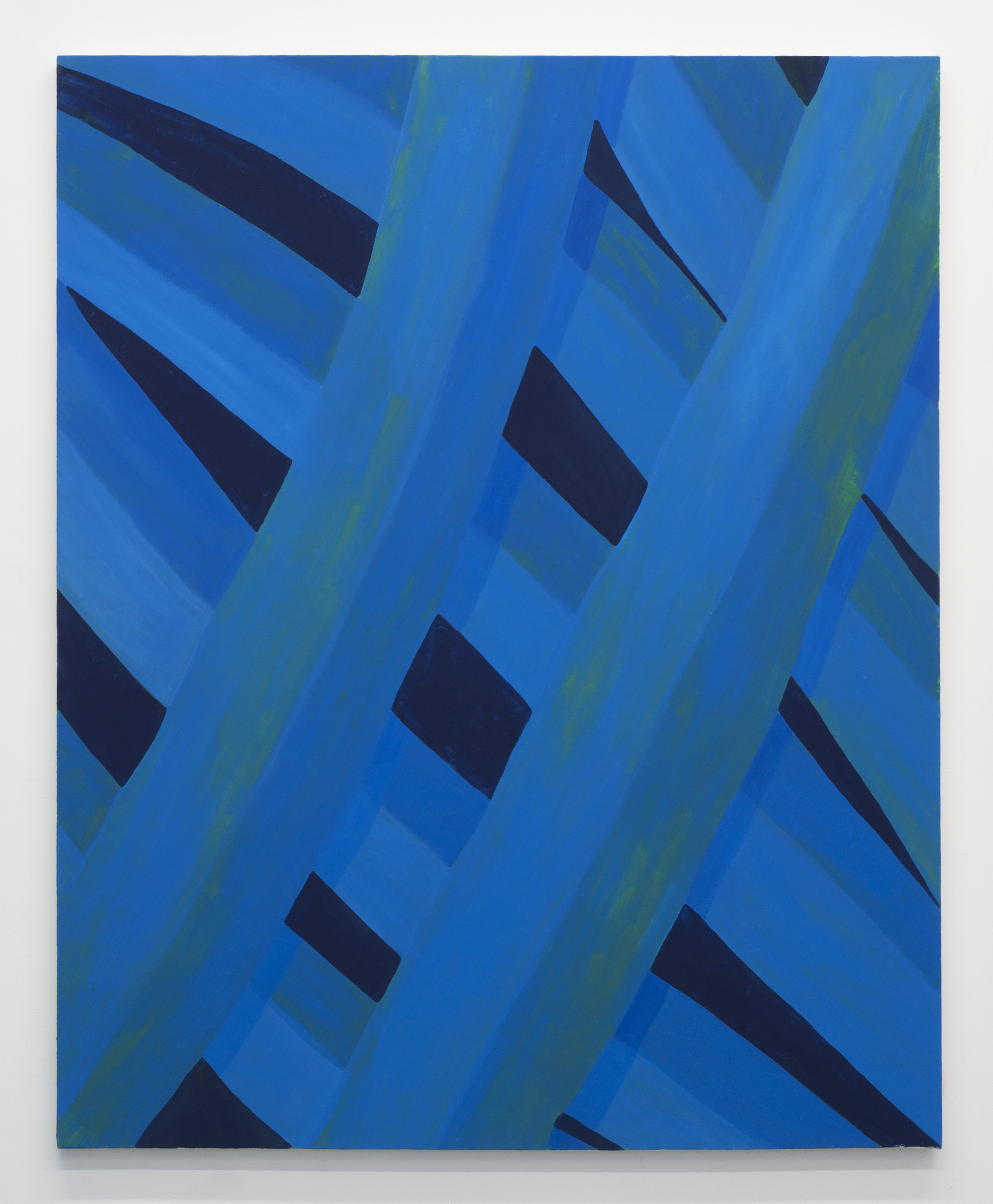 Corydon Cowansage, Grass 47, 2015, acrylic on canvas, 50 x 40 inches