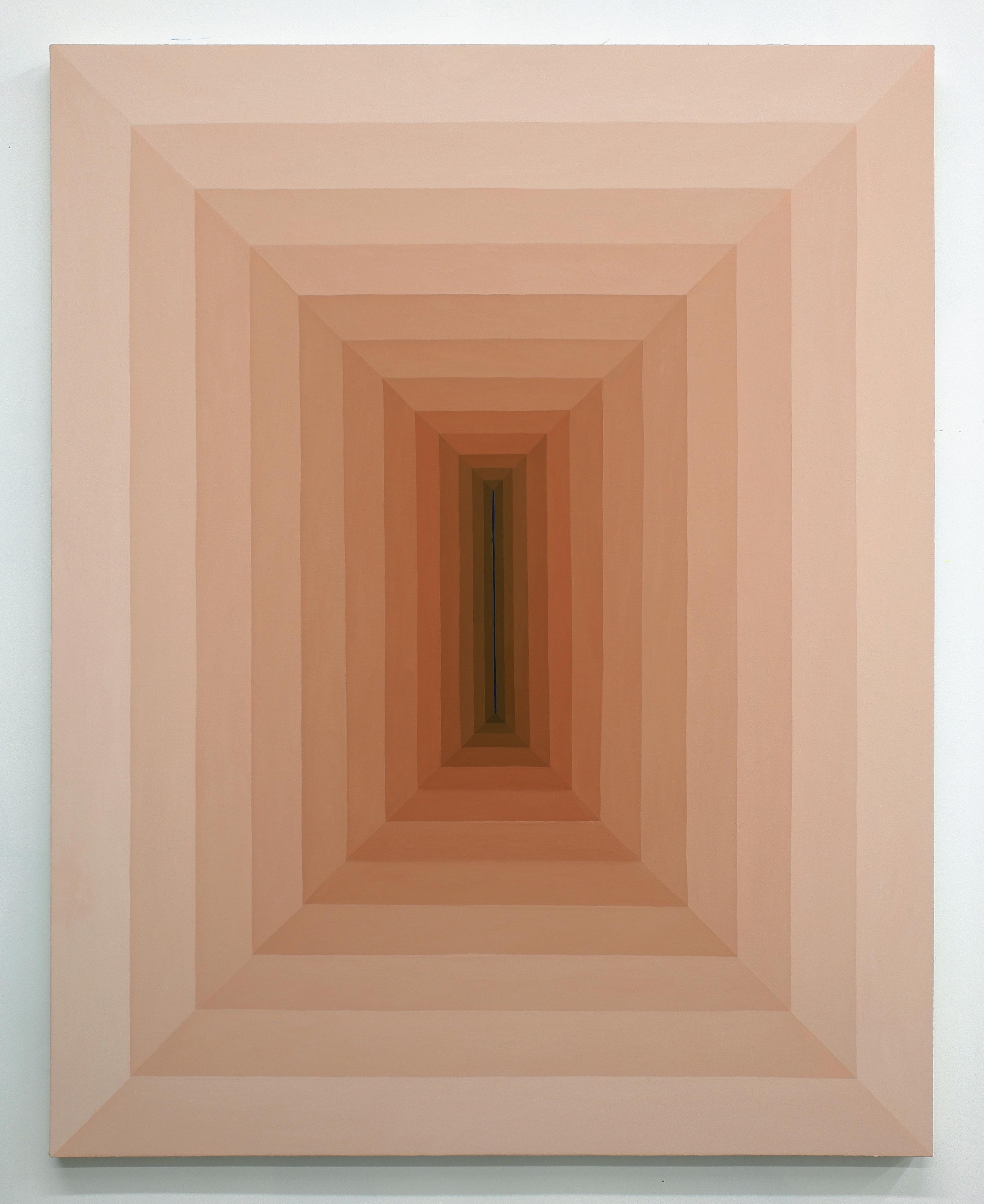 Corydon Cowansage, Hole 52, 2018, acrylic on canvas, 50 x 40 inches