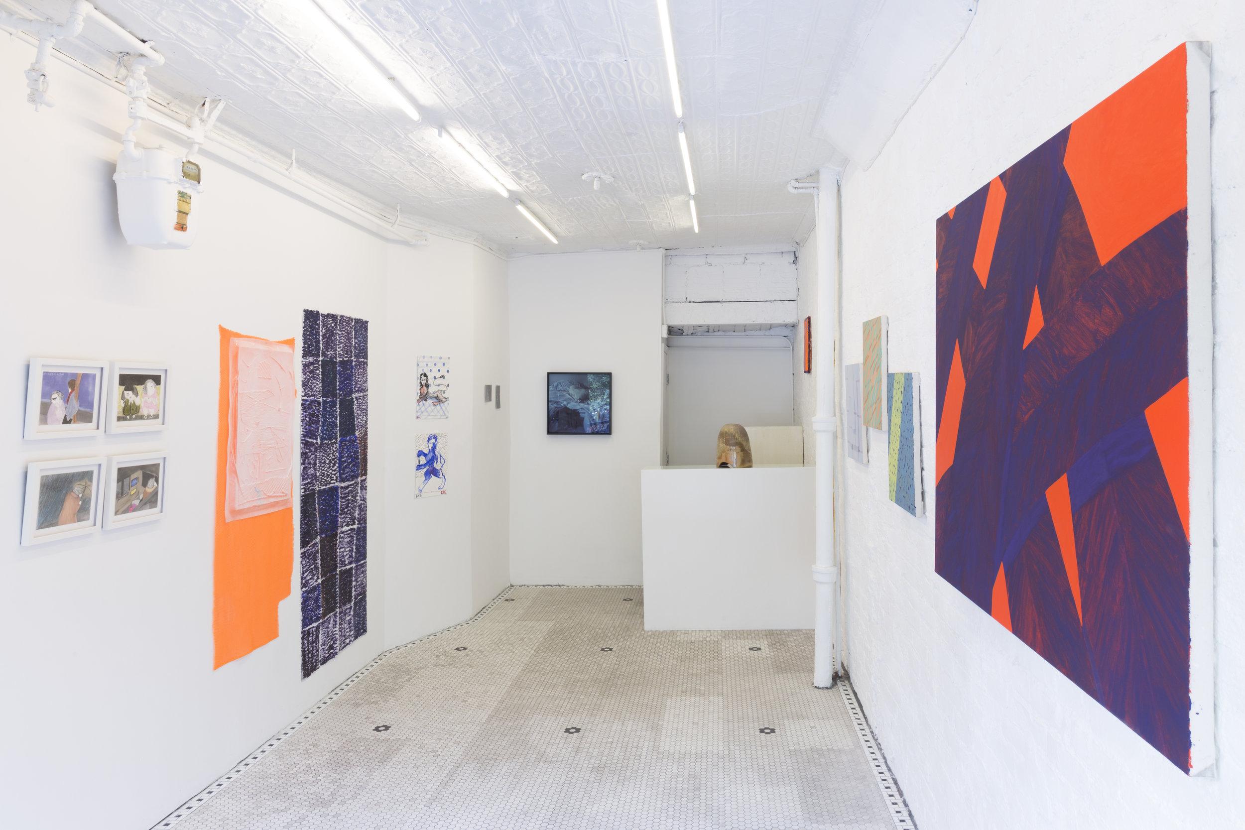 Installation view of First Year at 17 Essex in NYC, 2017. Photo credit: Kirsten Kilponen. Courtesy 17 Essex, New York