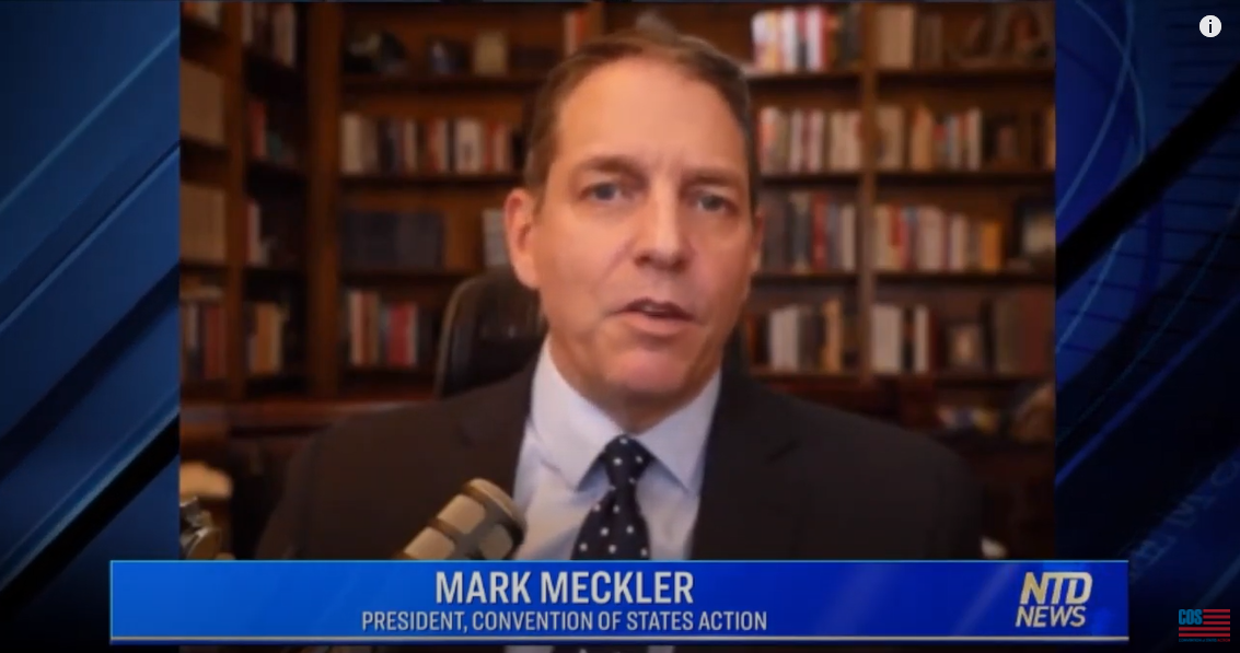 Mark Meckler on NTD News