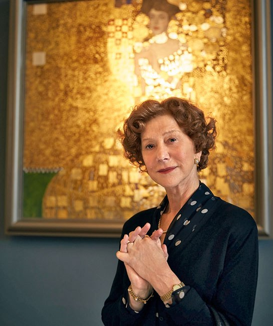 "Helen Mirren en ""Woman in Gold""."