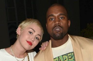 Miley Cyrus y Kanye West