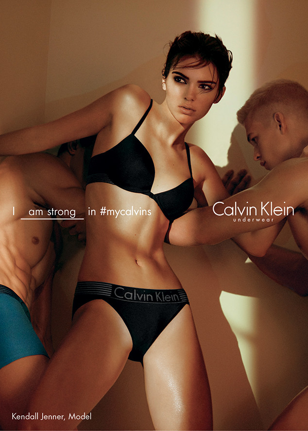 Kendall Jenner para Calvin Klein 4